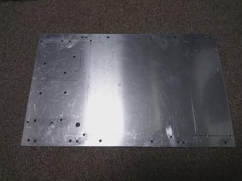 手作りPCケース底板